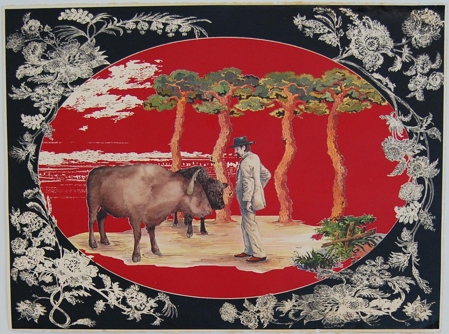09 2010 serigraphie bison